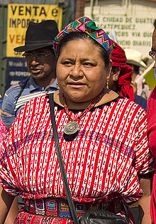 a biography of rigoberta menchu an indigenous guatemalan woman She is an indigenous guatemalan rigoberta was the first guatemalan to receive the nobel peace prize because of her job rigoberta menchu - biography in.
