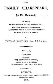 Thomas Bowdler Quotes