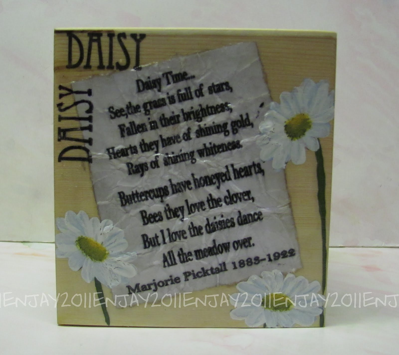 Love Quotes About Life: Daisy Poems And Quotes. QuotesGram
