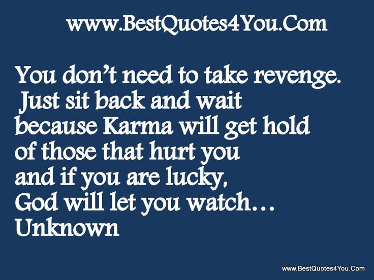 Quotes About Revenge And Karma. QuotesGram