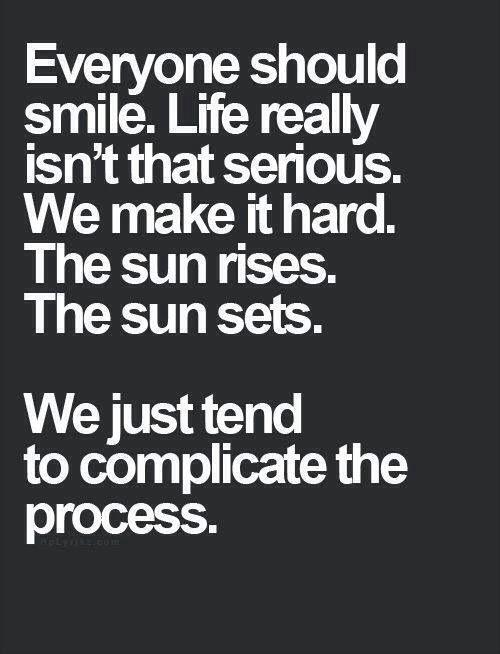 Life Isnt That Serious Quotes. QuotesGram