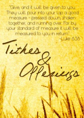Church Offering Quotes. QuotesGram