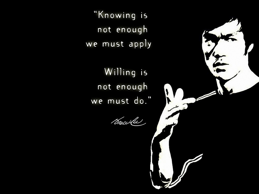 Bruce Lee Quotes Water Wallpaper Quotesgram