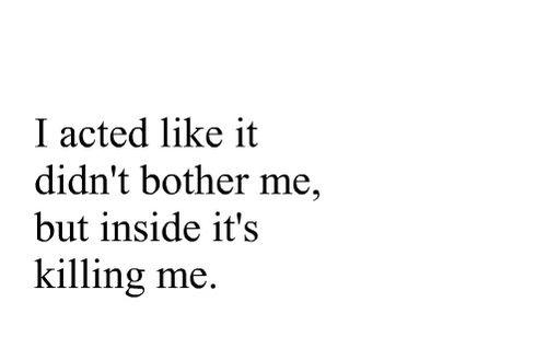 Depressing Quote On Tumblr