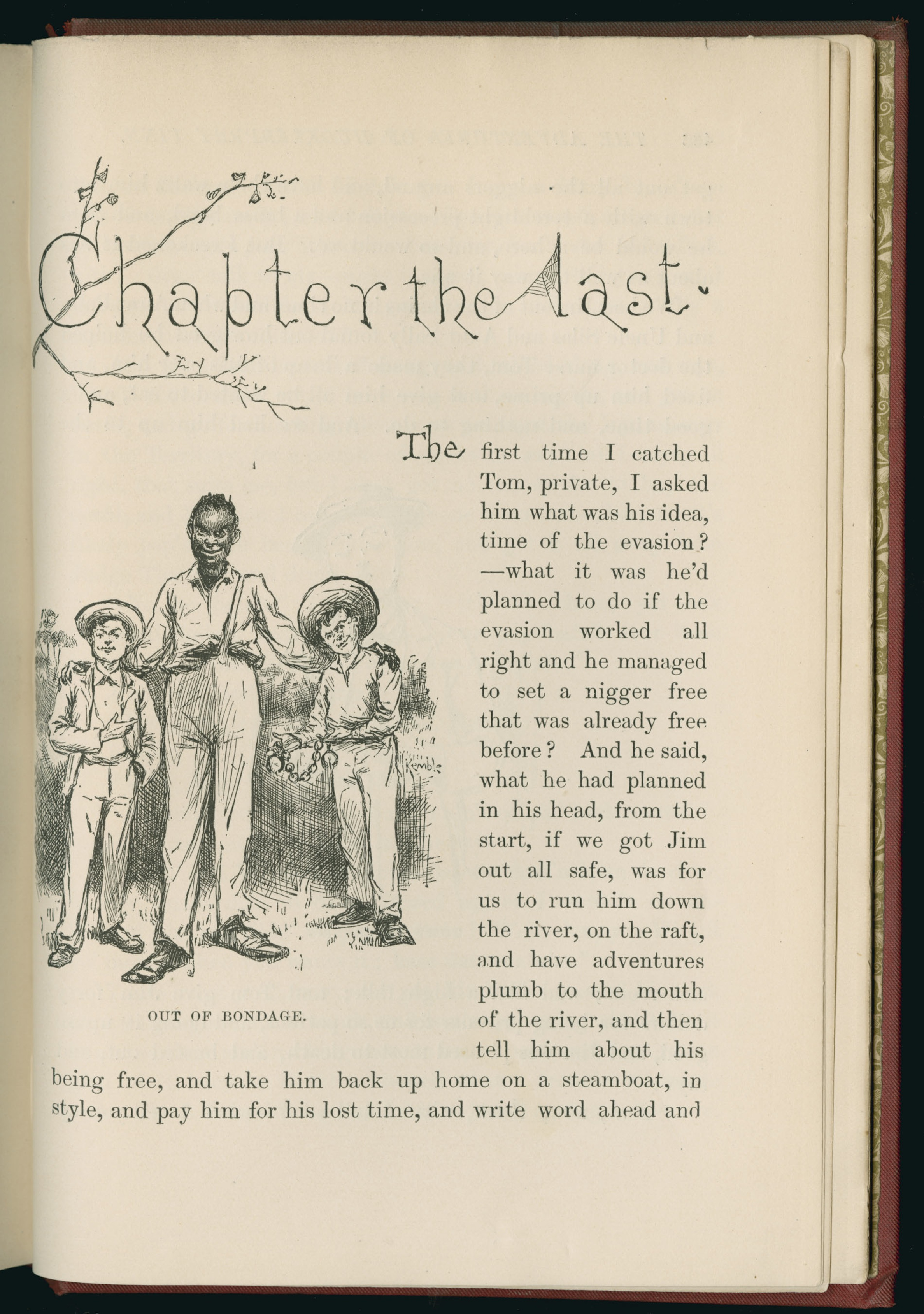 huck finn not racist Racial and religious hypocrisy in adventures of huckleberry finn  man in adventures of huckleberry finn he is an abusive, racist, drunk old man devouted of most virtues at the end of chapter 5, after having been arrested for drunk, yet again, and  huckleberry finn, p239) when boggs rides into the small town and starts hurling insults at.