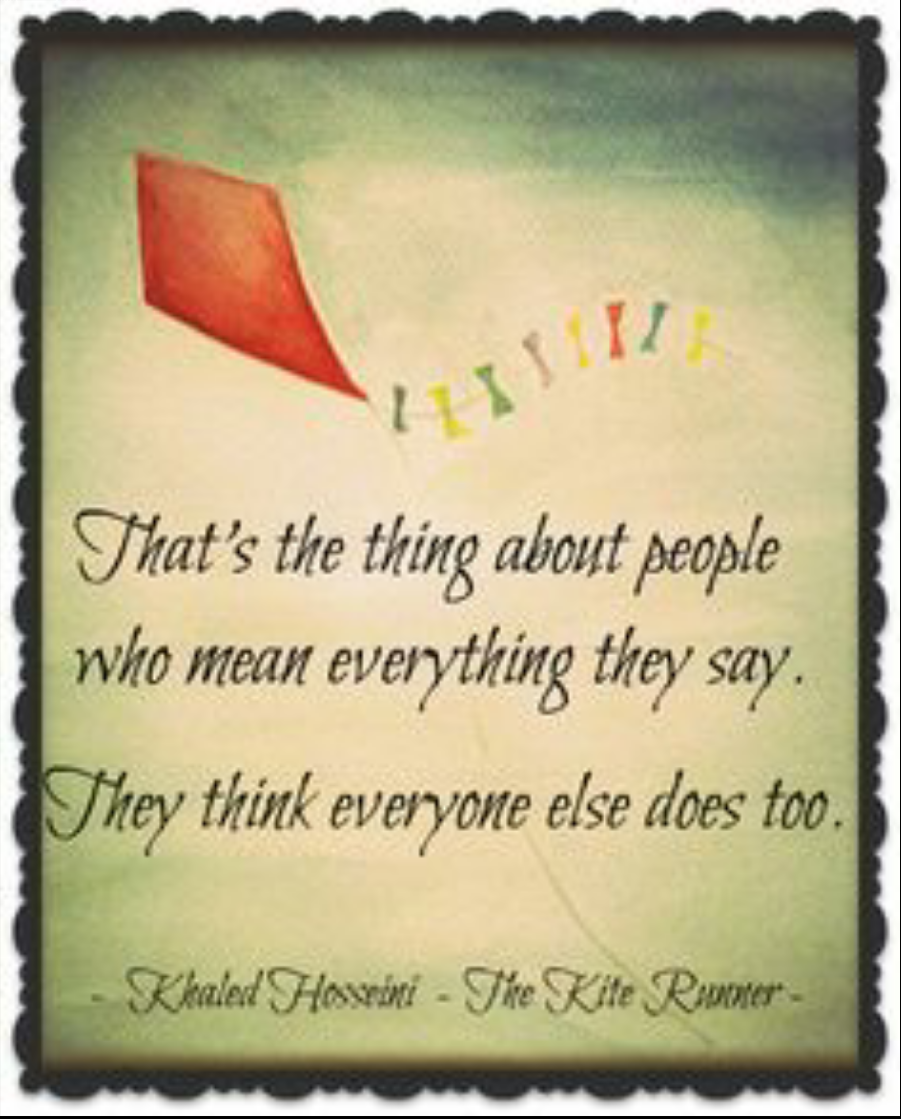 betrayal in khaled hossieni s the kite The kite runner is a novel by khaled hosseini the kite runner study guide contains a biography  the defining event in his life is his betrayal of his closest .
