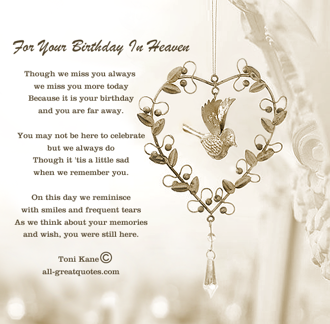 Lost Loved Ones Birthday Quotes. QuotesGram