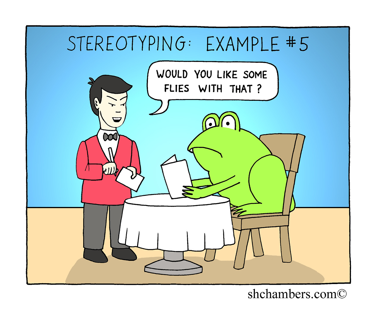 Persistence Motivational Quotes Cartoon: Quotes About Prejudice And Stereotypes. QuotesGram