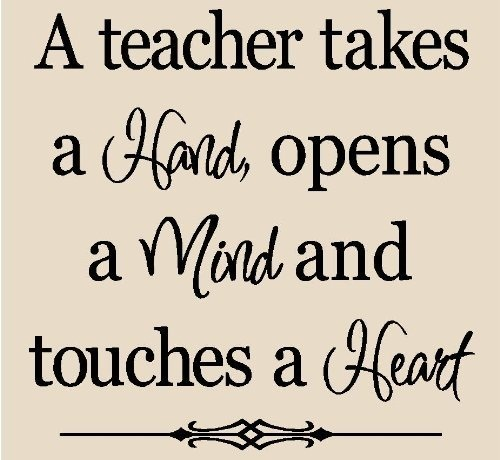 Inspirational Quotes About Positive: Teacher Quotes Making A Difference. QuotesGram