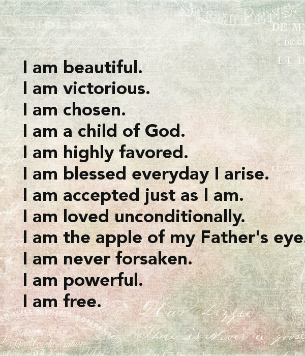 I Am Blessed And Highly Favored Quotes Chosen Highly F...