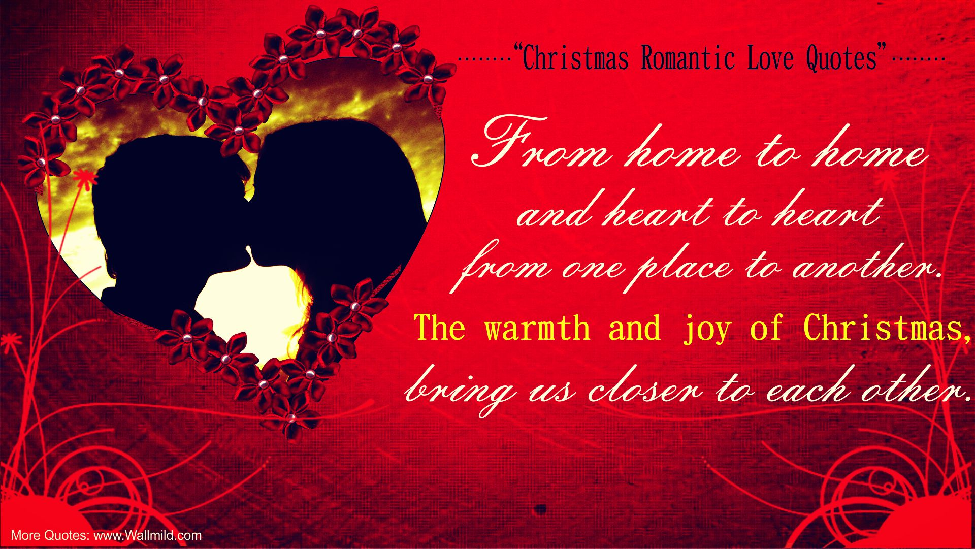 Christmas Quotes And Sayings: Christmas Love Quotes. QuotesGram