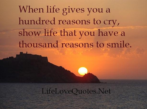 I Have Every Reason To Smile Quotes: Crying Quotes About Life. QuotesGram