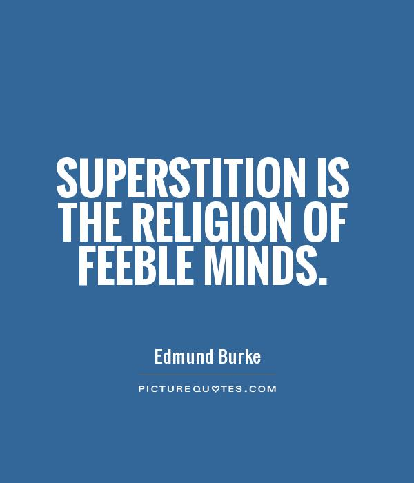 truth in superstitions