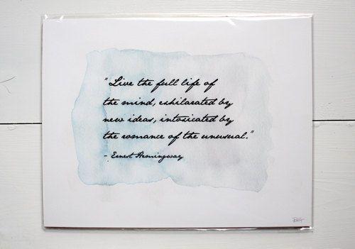 Sailing Quotes Hemingway Quotesgram: Ernest Hemingway Inspirational Quotes. QuotesGram