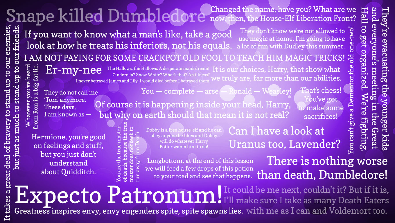 Potter Quotes Wallpaper Quotesgram