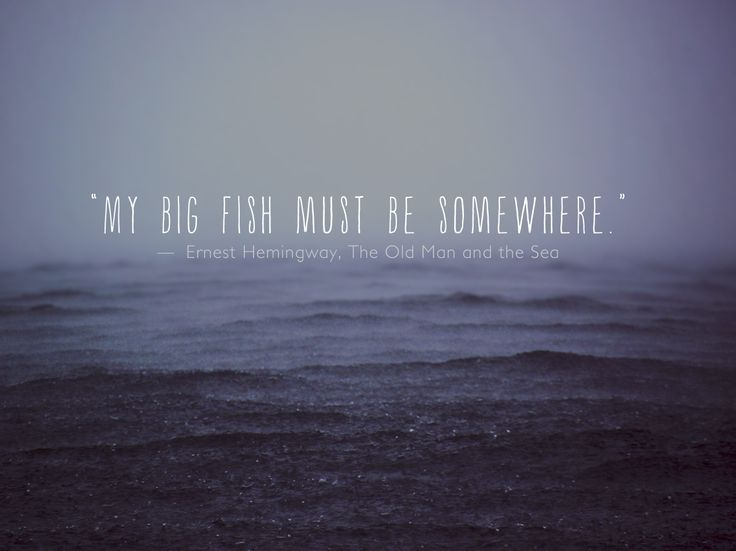 Quote About The Sea: Old Man And The Sea Quotes. QuotesGram