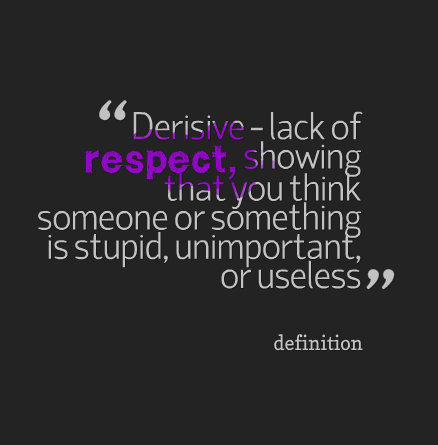 Disrespect dealing a relationship in with 18 Relationship