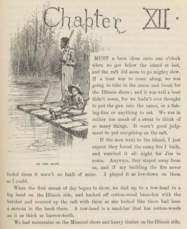 The Importance of the Mississippi River in Mark Twain's Huckleberry Finn