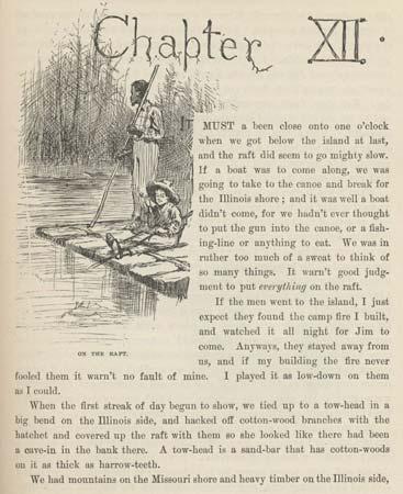 Raft Huckleberry Finn Quotes Quotesgram