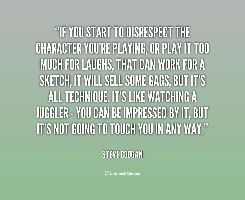 Disrespectful Quotes Youre. QuotesGram