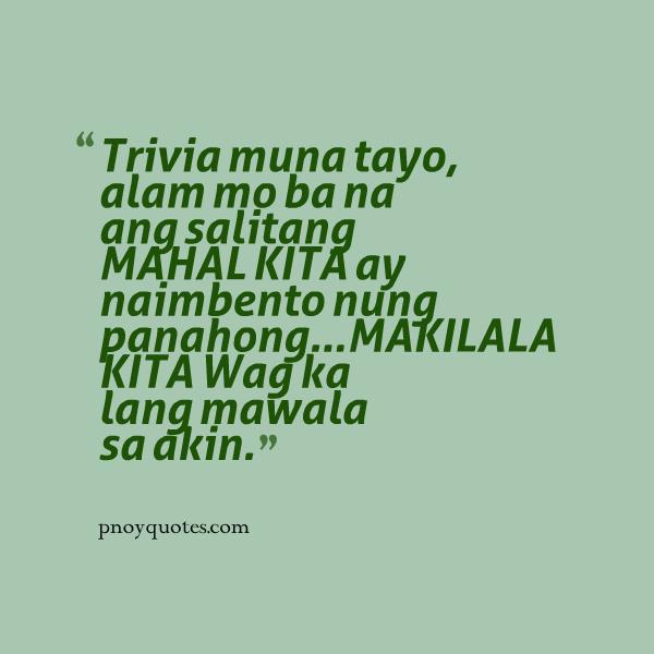 Ba Quote: Mahal Kita Quotes Tagalog. QuotesGram