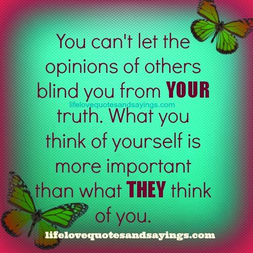 What You Think Quotes: What Others Think Of You Quotes. QuotesGram