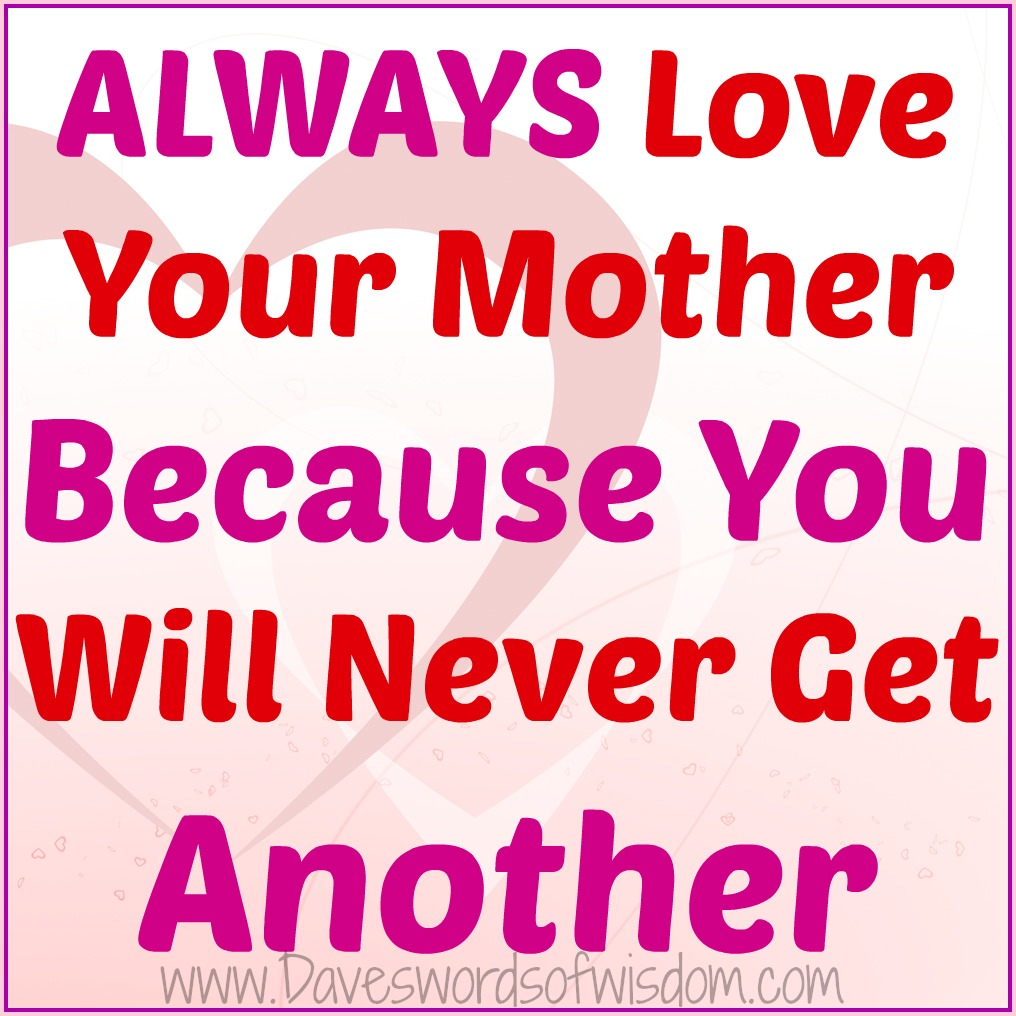 Your Not A Mother Quotes: Quotes About Disrespecting Your Mother. QuotesGram