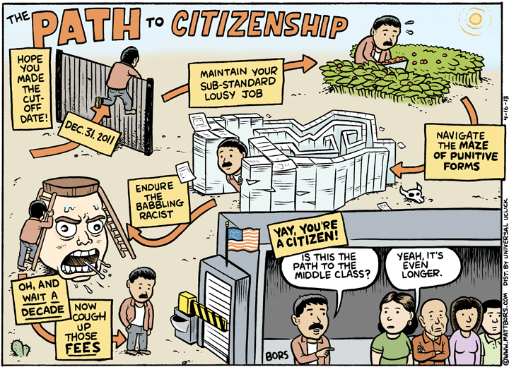 Is immigration policy killing the American Dream?