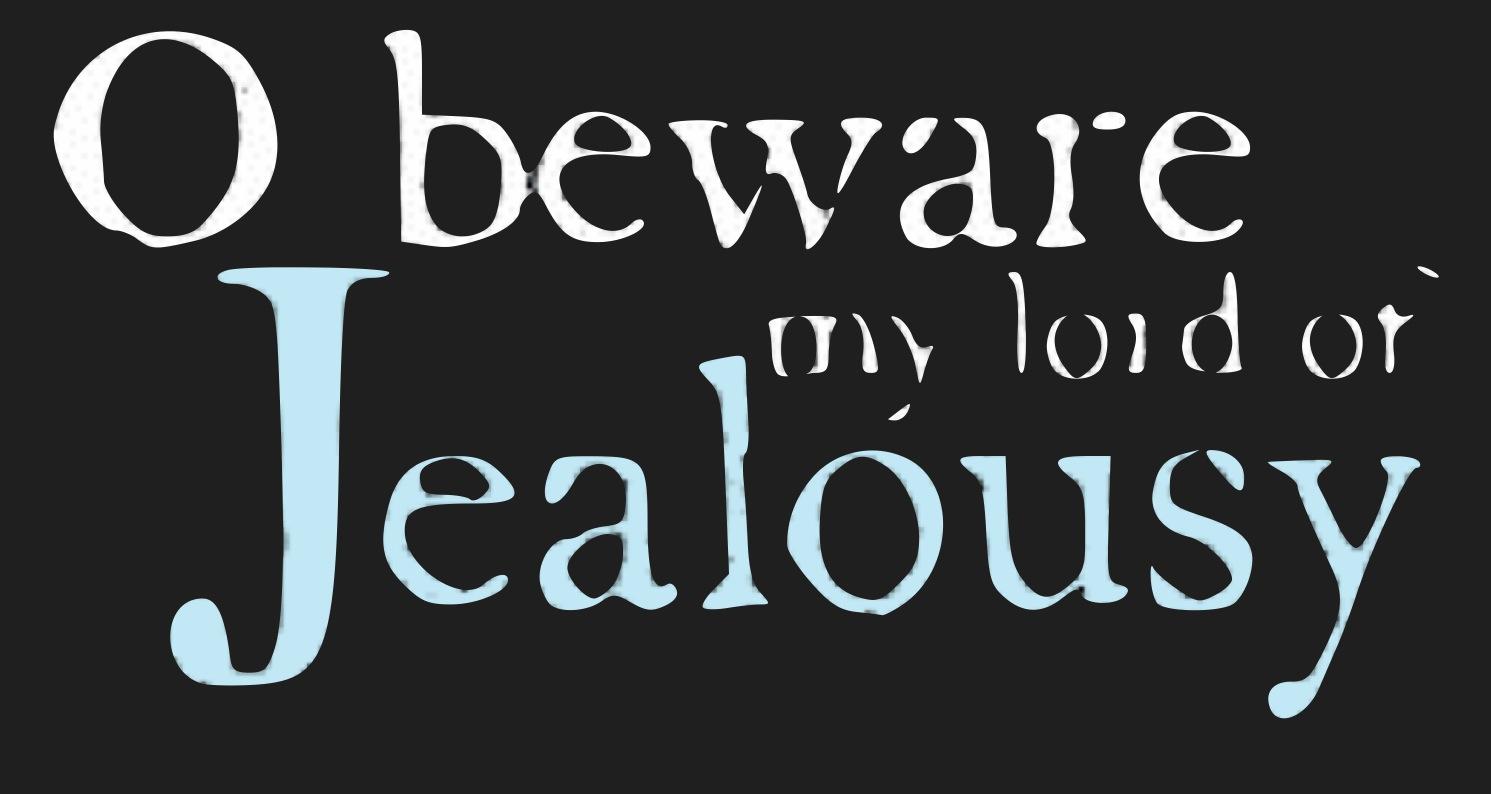 Jealousy othello quotes iago Themes Sexual