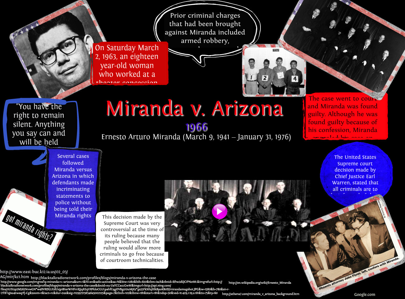 miranda vs arizona essays