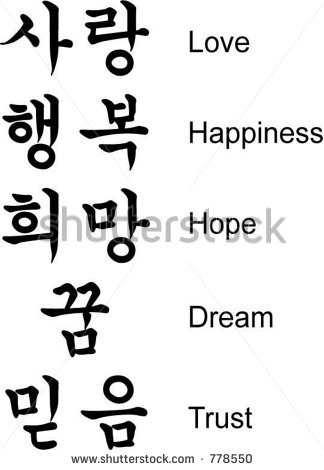 Korean Happy Quotes. QuotesGram Japanese Symbol For Faith Hope And Love
