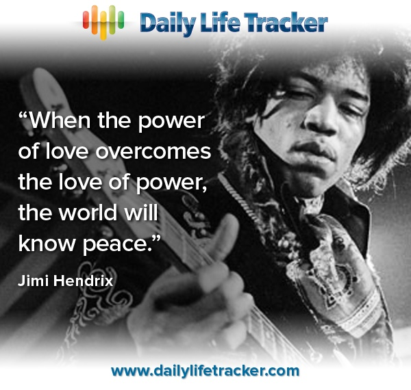 Quotes About People Who Notice: Jimi Hendrix Inspirational Quotes. QuotesGram
