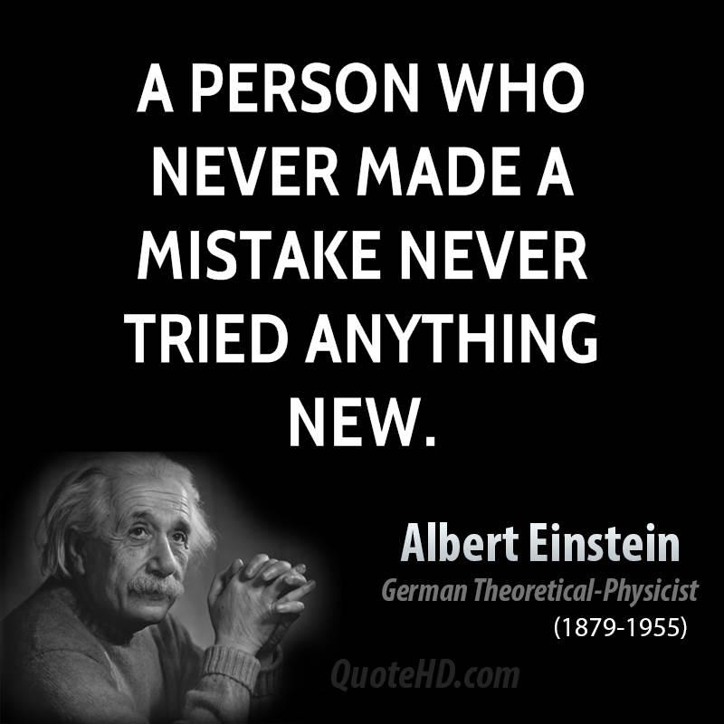 Love Quotes Einstein: Einstein Mistake Quotes. QuotesGram