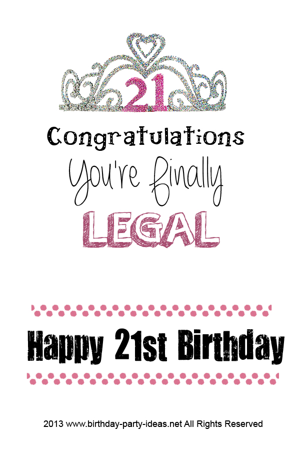21st birthday quotes for girls quotesgram
