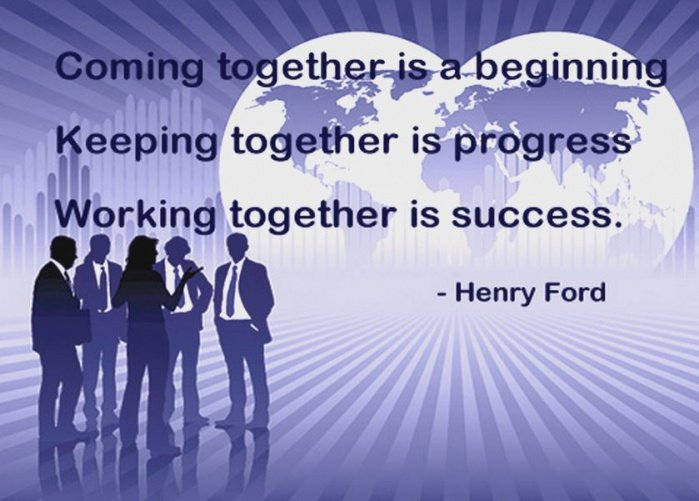 Inspirational quotes about working together