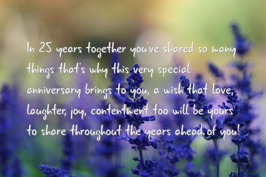 25 Wedding Anniversary Quotes Quotesgram