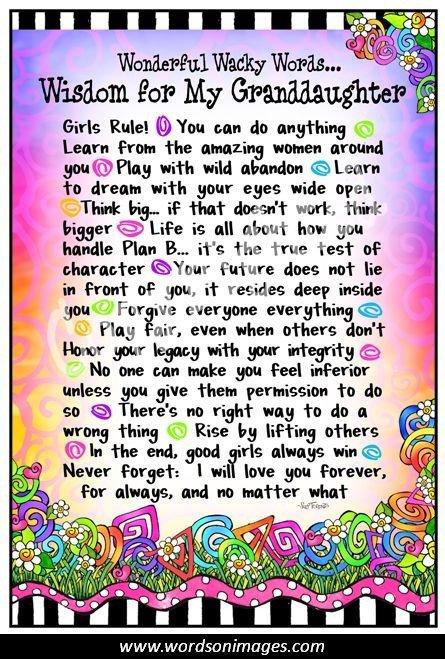 Nana Quotes: Nana And Granddaughter Quotes. QuotesGram
