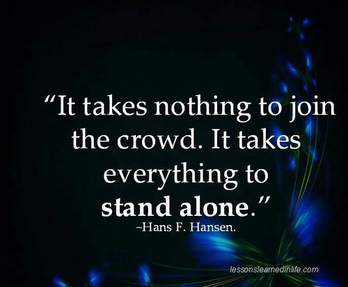 Quotes About Not Following The Crowd. QuotesGram