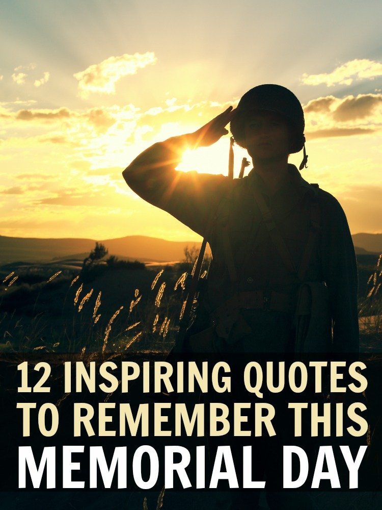 Inspirational Day Quotes: Memorial Day Quotes Inspirational. QuotesGram