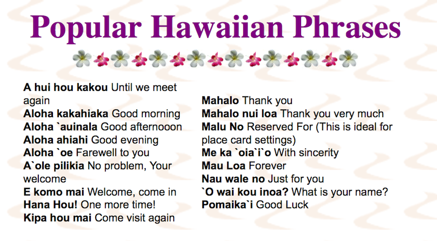 until we meet again hawaiian language
