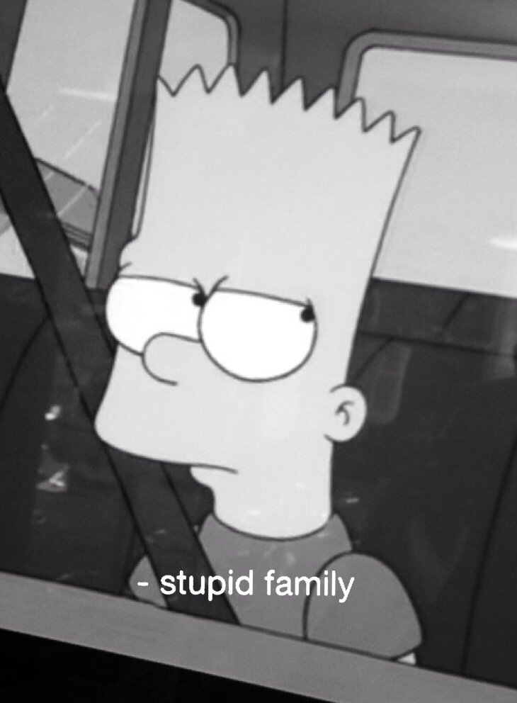 Sad Quotes Black And White Quotesgram: Sad Simpson Tv Show Quotes. QuotesGram