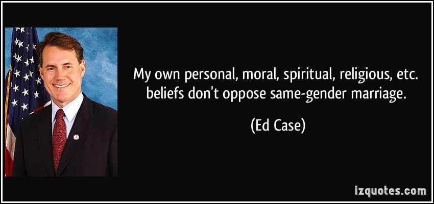 The personal religious beliefs of edward