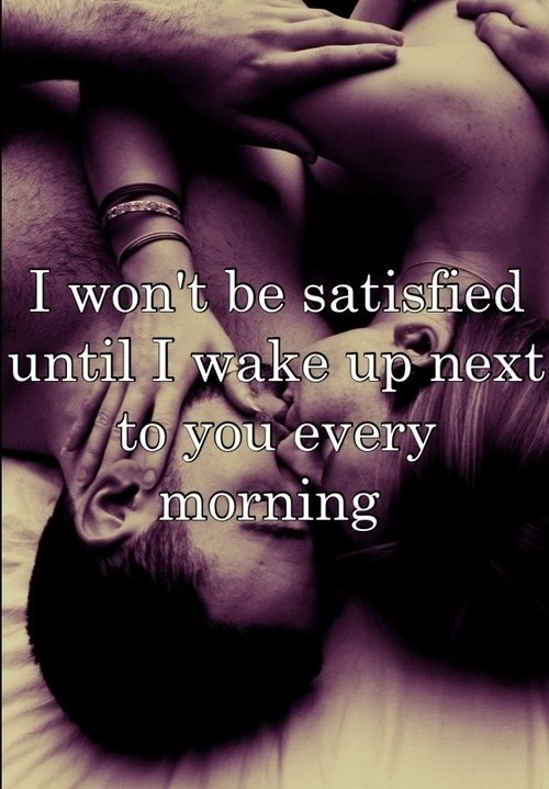 Love Waking Up Next To You Quotes