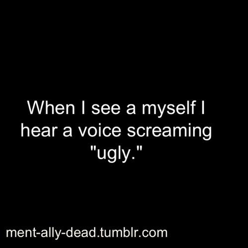 Sad Quotes About Depression: Im Sad Ugly Quotes. QuotesGram