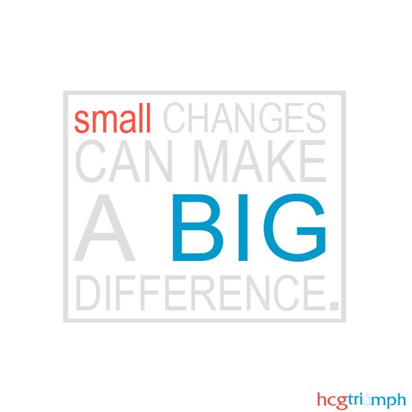 Small Changes Quotes. QuotesGram
