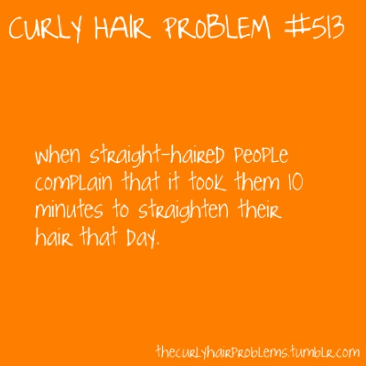 Curly hair problems wind