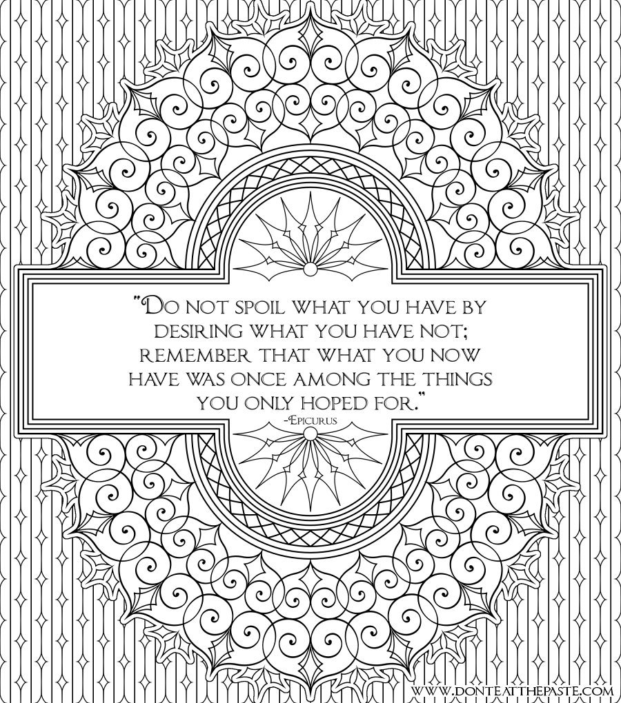 Coloring Pages Quotes About Life Quotesgram