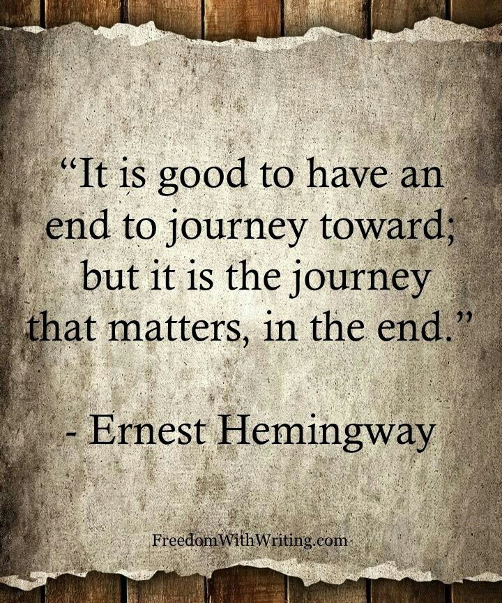 Love Quotes Journey: Enjoy The Journey Quotes. QuotesGram