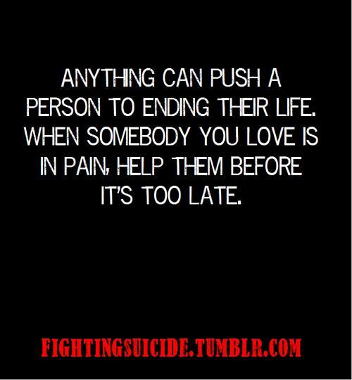 Quotes About Suicide. QuotesGram