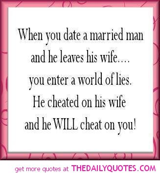 When wife husband leaves cheats What Does
